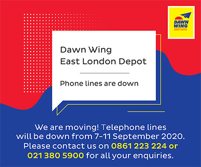 East London Phone Lines Down