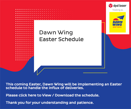 Dawn Wing Easter Schedule